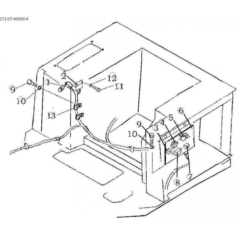 Коробка предухранителей