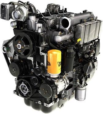 новый двигатель JCB