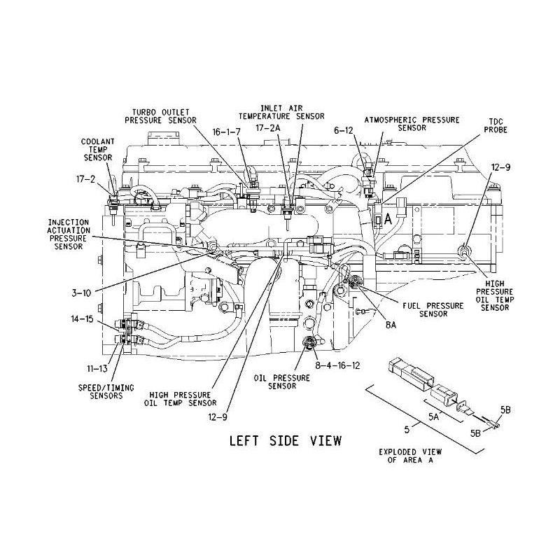 Электронные датчики двигателя