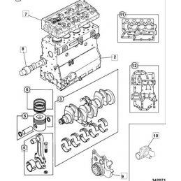 Запчасти для двигателей JCB