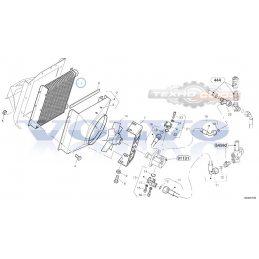 Радиатор масляный VOLVO L30