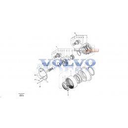 Вал гидромотора VOLVO EC180BLC