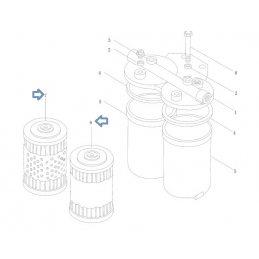 Фильтр топлива Weichai Diesel WD-615