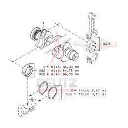 04150526 КОЛЕНВАЛ DEUTZ BF4L913
