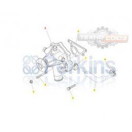 U45010062 помпа Perkins 404D-22T