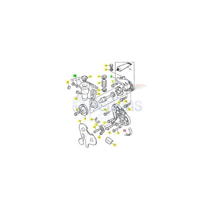 K614CF03 ремень ГРМ Perkins 1306