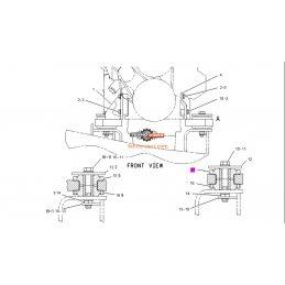 Подушка двигателя CAT 320B