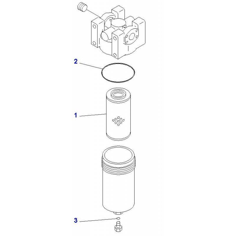 Фильтр гидравлический
