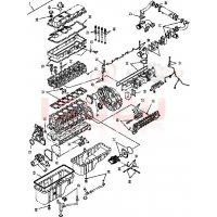 Прокладки ISUZU.  Комплекты прокладок на дизельные двигатели ISUZU.